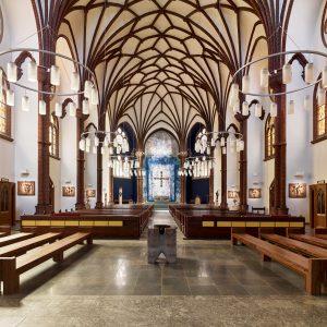 Kirche St. Bonifatius . Berlin . Kreuzberg